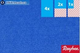 Modelovací filc Rayher světle modrý ~1,5mm, 22x15cm rayher-004
