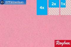Modelling felt Rayher rose ~1,5mm, 22x15cm rayher-012