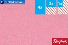 Modelovací filc Rayher rose ~1,5mm, 22x15cm rayher-012