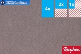 Modelovací filc Rayher šedý ~1,5mm, 22x15cm rayher-003