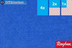 Моделируемый фетр Rayher голубой ~1,5мм, 22x15см