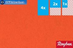 Моделируемый фетр Rayher оранжевый ~1,5мм, 22x15см