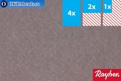 Моделируемый фетр Rayher серый ~1,5мм, 22x15см