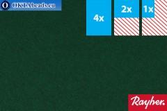 Моделируемый фетр Rayher зеленый ~1,5мм, 22x15см