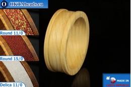 Base for bracelet Maple ~30mm, 1pc