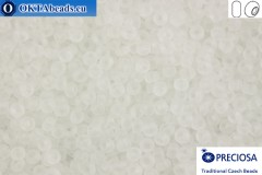 Preciosa czech seed beads 1 quality crystal matte (00050m) 11/0, 50g
