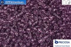 Preciosa český rokajl 1 jakost fialový (20010) 9/0, 50g R09PR20010