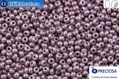 Прециоза чешский бисер 1 сорт фиолетовый глянцевый (28020) 10/0, 50гр