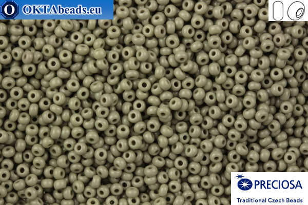 Preciosa czech seed beads 1 quality grey (43020) 8/0, 50g