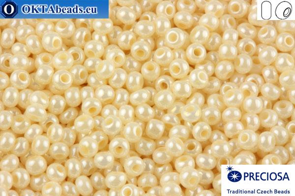 Preciosa český rokajl 1 jakost béžový perlový (46112) 13/0, 50g R13PR46112