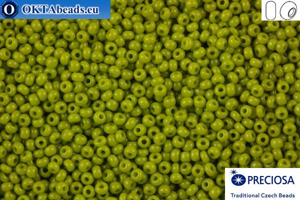 Preciosa český rokajl 1 jakost zelený (53430) 10/0, 50g