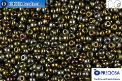 Preciosa český rokajl 1 jakost iris (59115) 10/0, 50g