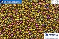 Preciosa český rokajl 1 jakost iris (59148) 6/0, 50g