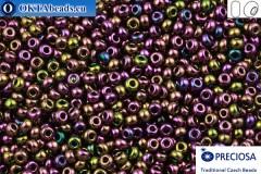 Прециоза чешский бисер 1 сорт фиолетовый ирис (59195) 9/0, 50гр