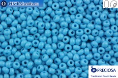 Preciosa czech seed beads 1 quality blue (63050) 13/0, 50g