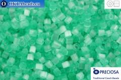 Preciosa český dvoukrátky 1 jakost smaragd silk (05164) 11/0, 50g