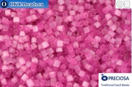 Preciosa český dvoukrátky 1 jakost růžový silk (05692) 11/0, 50g