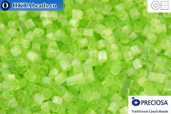 Preciosa czech 2cut 1 quality green silk (05154) 11/0, 50g C11PR05154