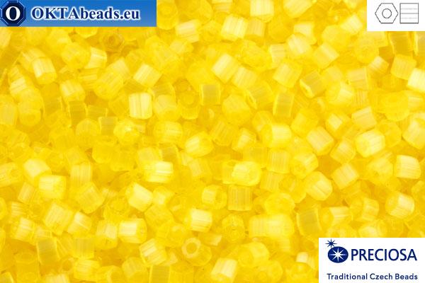 Preciosa czech 2cut 1 quality yellow silk (05181) 11/0, 50g C11PR05181