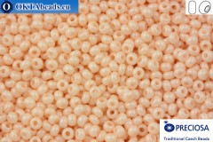 Прециоза чешский бисер 1 сорт бежевый соль-гель (16218) 10/0, 50гр R10PR16218