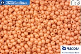 Прециоза чешский бисер 1 сорт бежевый соль-гель (16918) 10/0, 50гр R10PR16918