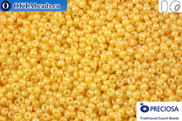 Preciosa czech seed beads 1 quality beige pearl (47112) 10/0, 50g R10PR47112