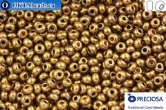 Прециоза чешский бисер 1 сорт бронза (59145) 6/0, 50гр R06PR59145