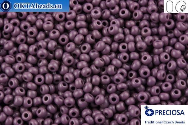 Прециоза чешский бисер 1 сорт фиолетовый (23040) 10/0, 50гр R10PR23040
