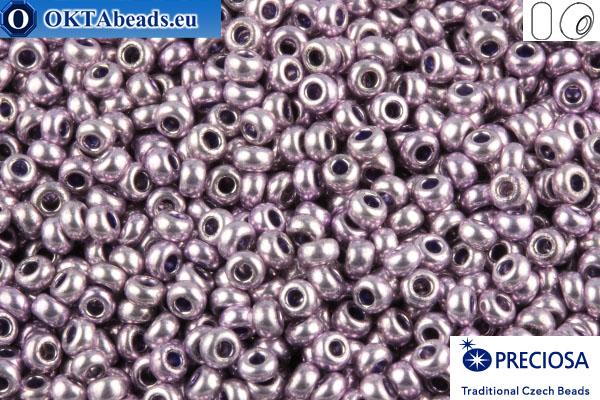 Preciosa czech seed beads 1 quality lilac metallic (18123) 10/0, 50g R10PR18123