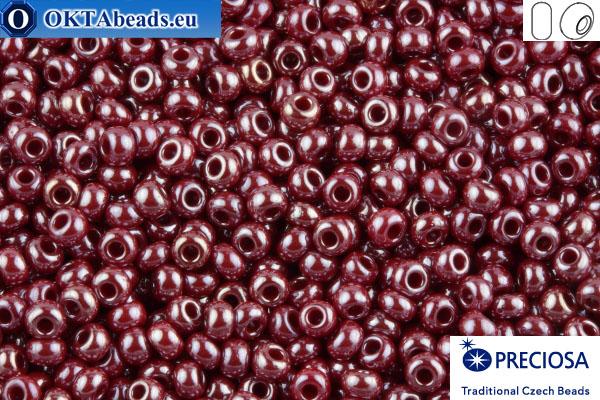 Preciosa czech seed beads 1 quality garnet luster (98210) 10/0, 50g R10PR98210