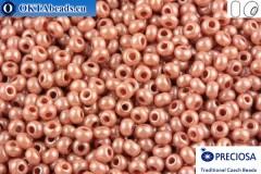 Прециоза чешский бисер 1 сорт коричневый глянцевый (07631) 10/0, 50гр
