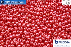 Preciosa český rokajl 1 jakost červený luster (98190) 10/0, 50g