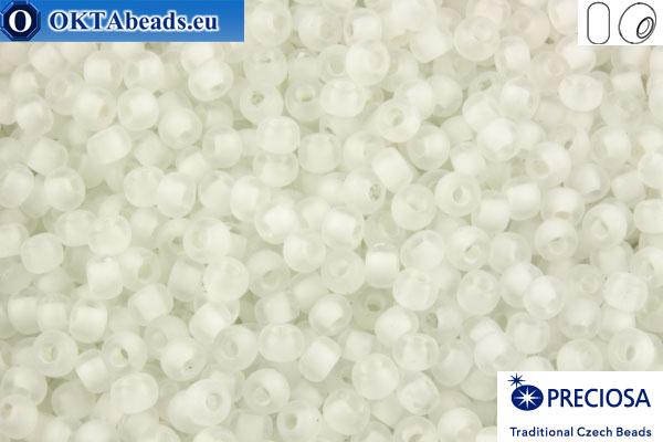 Preciosa czech seed beads 1 quality crystal color line matte (38302) 10/0, 50g R10PR38302m