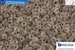 Preciosa czech seed beads 1 quality crystal color line matte (38318) 10/0, 50g