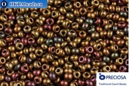 Preciosa czech seed beads 1 quality silver metallic matte (01700) 10/0, 50g R10PR01700