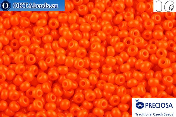 Preciosa český rokajl 1 jakost oranžový (93140) 10/0, 50g R10PR93140_v1