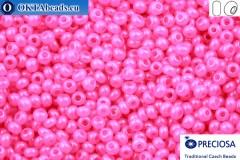 Прециоза чешский бисер 1 сорт розовый алебастр (17177) 13/0, 50гр