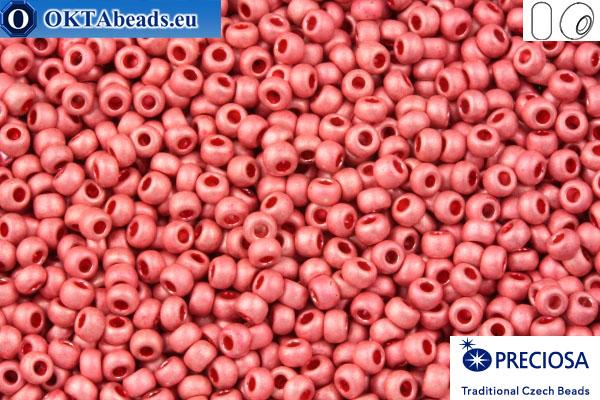 Прециоза чешский бисер 1 сорт розовый матовый (18598m) 10/0, 50гр R10PR18598m