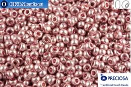 Прециоза чешский бисер 1 сорт розовый металлик (18192) 10/0, 50гр R10PR18192