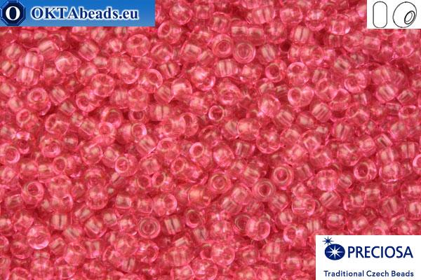 Прециоза чешский бисер 1 сорт розовый соль-гель (01193) 10/0, 50гр R10PR01193