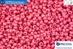 Прециоза чешский бисер 1 сорт розовый соль-гель (16198) 10/0, 50гр