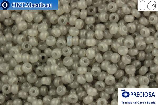 Preciosa czech seed beads 1 quality grey alabaster (02141) 10/0, 50g R10PR02141