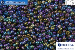 Preciosa czech seed beads 1 quality grey AB (41010) 10/0, 50g