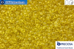 Preciosa český rokajl 1 jakost žlutý solgel (01151) 10/0, 50g