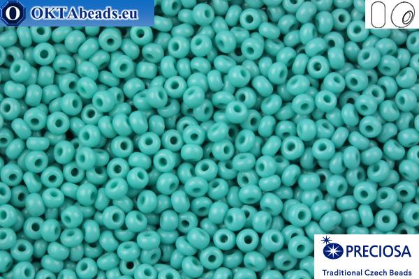 Preciosa czech seed beads 1 quality turquoise (63130) 9/0, 50g