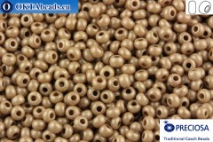 Preciosa czech seed beads 1 quality brown (46318) 10/0, 50g