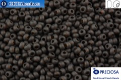 Preciosa czech seed beads 1 quality brown matte (10140m) 10/0, 50g