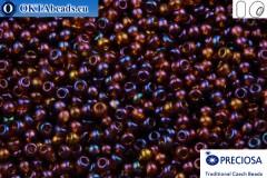 Preciosa czech seed beads 1 quality brown AB (11140) 10/0, 50g