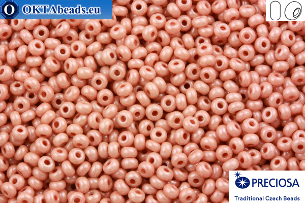 Preciosa czech seed beads 1 quality pink (07633) 10/0, 50g