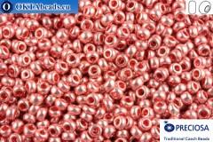 Preciosa český rokajl 1 jakost růžový metalíza (18191) 10/0, 50g